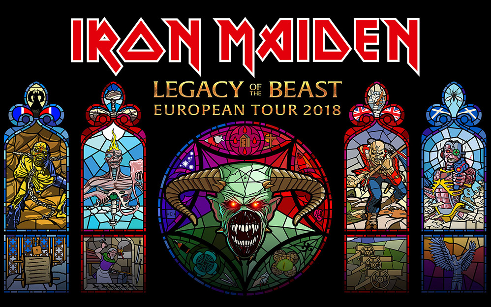 Iron Maiden – Legacy of the Beast Tour 2018 – Arena Zagreb